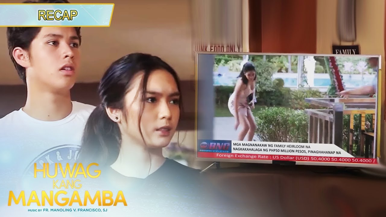 Joy catches a glimpse of Mira on the news   Huwag Kang Mangamba Recap