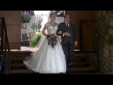 Entrada da noiva CasamentoNiinaeGui
