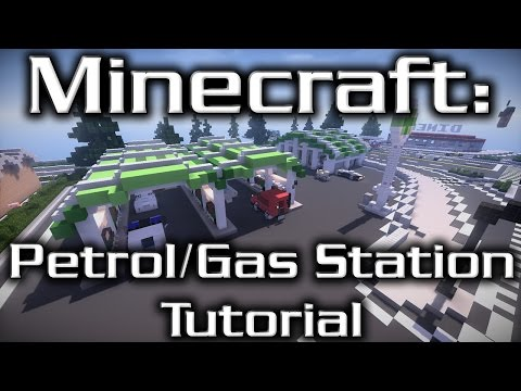 Minecraft: Petrol/Gas Station Tutorial