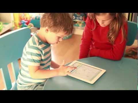 iCuadernos by Rubio / Aplicación para niños en iPad de Cuadernos Rubio