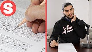 Grown Men Take An 8th Grade Test