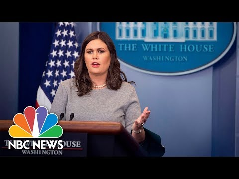 White House Press Briefing - March 27, 2018   NBC News
