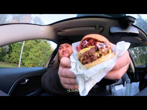 Testar Beachtown Bbq burgare från Bun Meat Bun !