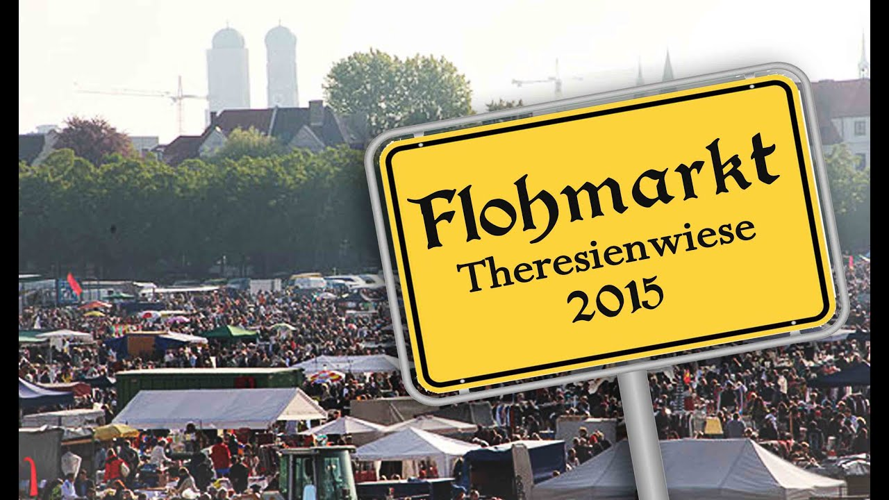 flohmarkt theresienwiese wiesn m nchen 2015 youtube. Black Bedroom Furniture Sets. Home Design Ideas