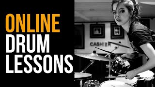 LEARN DRUMS ONLINE - Online Lessons