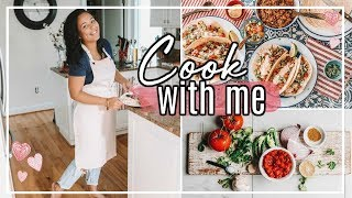 COOK SUPPER WITH ME 2018   SHARING SIMPLE MEAL PLANNING IDEAS!   Page Danielle