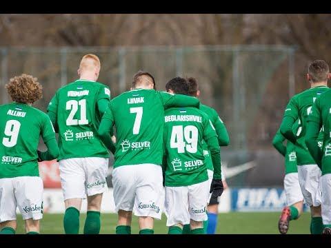 14. voor 2018: Pärnu JK Vaprus - Tallinna FC Flora 1:8 (1:4)