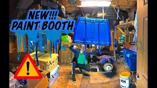 We Got A New Paint Booth?!