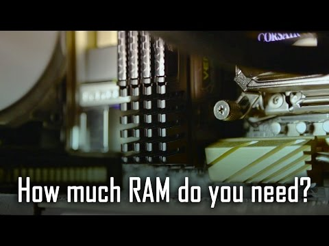 16GB vs 32GB vs 64GB RAM  How much do you need? Gaming vs Rendering
