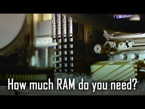 16GB Vs 32GB Vs 64GB RAM - How Much Do You Need? (Gaming Vs Rendering)