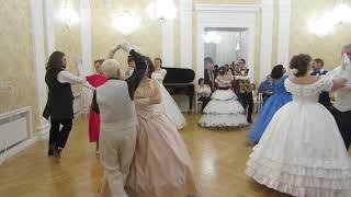 Сударушка. Рождественский бал в усадьбе Вороново 09.01.2019.