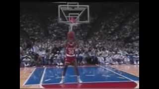 Kenny smith between the legs bounce dunk 1991