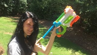 Honest Review: The FlashFlood Super Soaker (Nerf Brand 2-in-1 Water Gun)