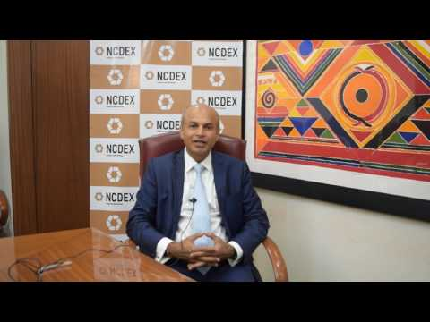 Mr. Samir Shah, MD & CEO, NCDEX talking about NCDEX Chana Futures launch , 14 July 2017