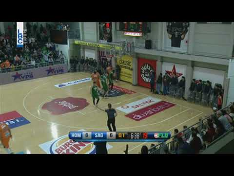 Lebanese Basketball League   Sam Young Dunk