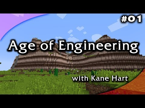 Age of Engineering - Part #1 - Getting Started & Mining World!