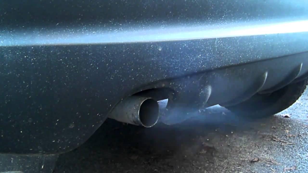 Daewoo Matiz 0.8 exhaust original - YouTube