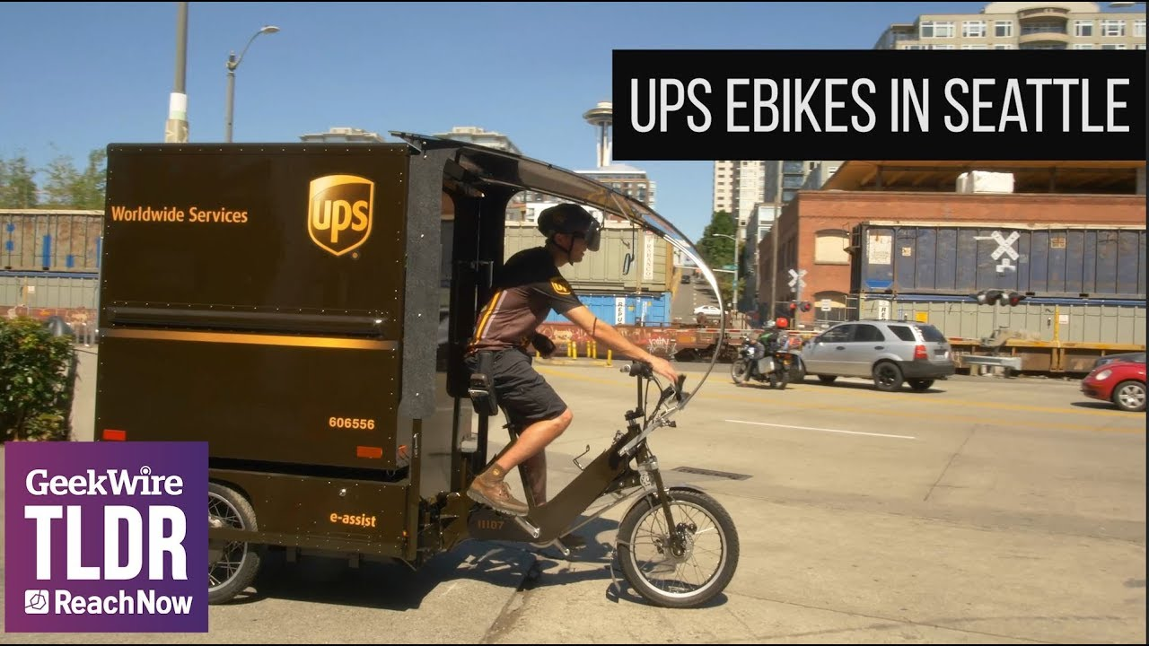UPS launches cargo e-bike delivery in Seattle, returning to