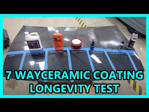 Update 02 20 Way Ceramic Coating Synthetic Wax Longevi