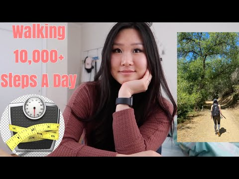 i walked 10,000 steps everyday for 7 days for weight loss | shocking results