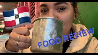 EATING AT A DOMINICAN RESTAURANT | | AJO Y ORÉGANO