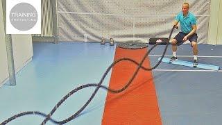 Battle Rope (Anaconda) Training Part II: Alternating Waves Variations