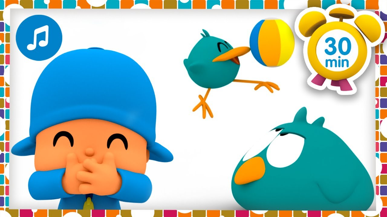 🐦🎶 Sleepy Bird & Baby Bird 🎶🐦 + Nursery Rhymes & Baby Songs [ 30 minutes ] - Pocoyo