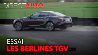 Flying Spur, Rs7, Ghibli Trofeo : les berlines TGV !