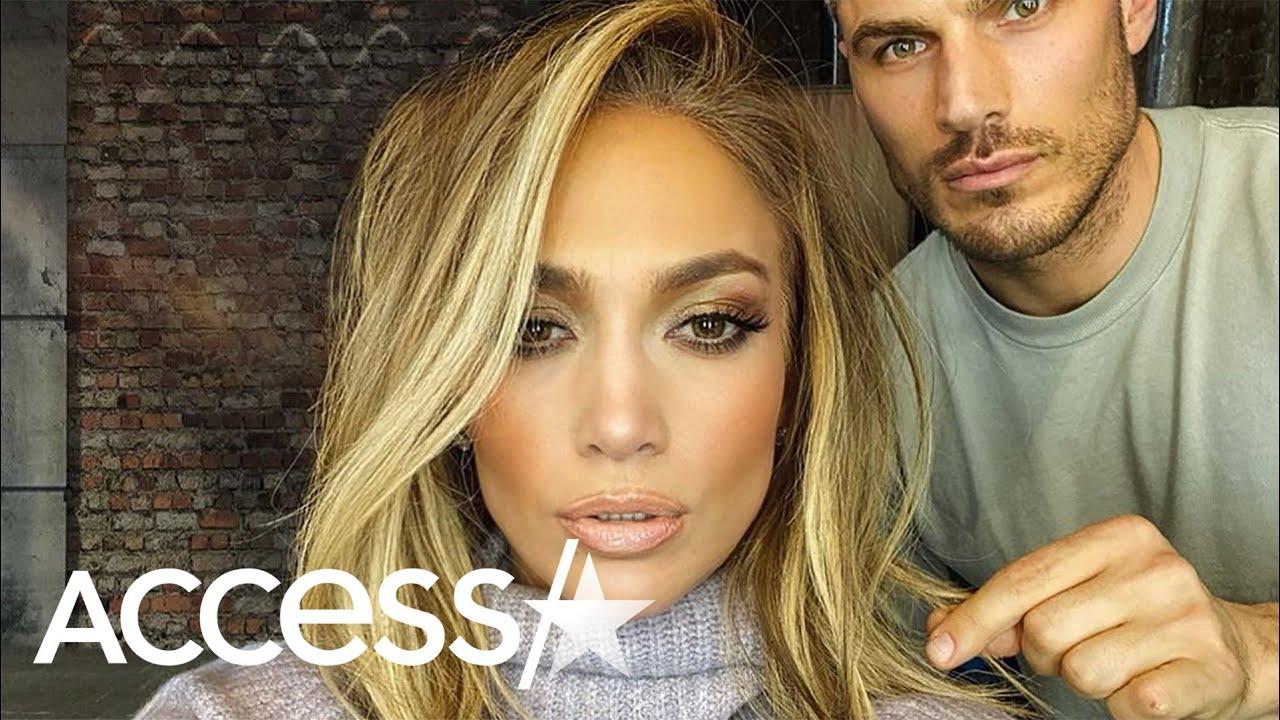 Jennifer Lopez Debuts New Shoulder Length Blonde Hairstyle Youtube