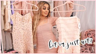 Summer Clothing Try-On Haul 2020 ft Princess Polly