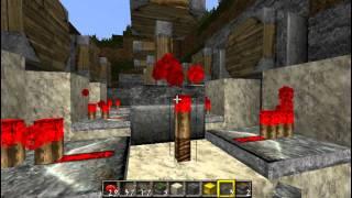 Строим освещение расположенное в земле [Уроки по Minecraft]
