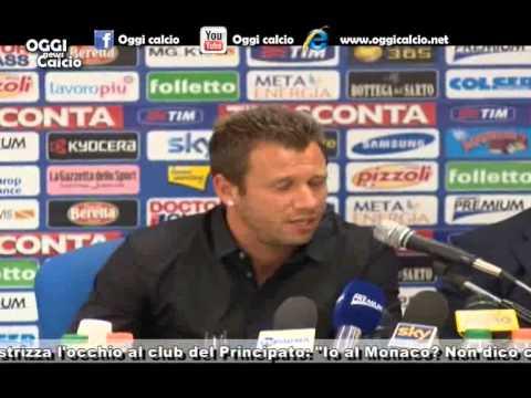 conferenza stampa di presentazione di Antonio Cassano
