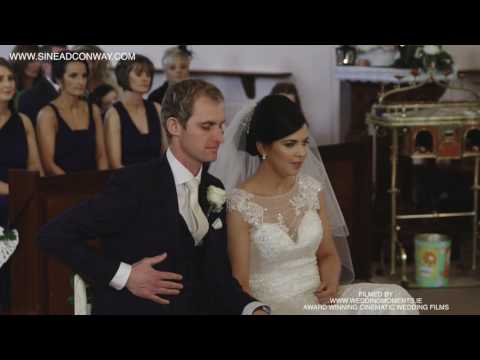 Sinead Conway Wedding Singer Bright Blue Rose