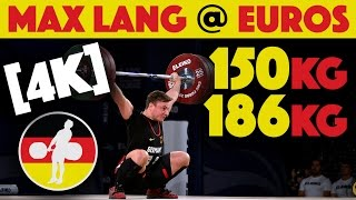 Video Max Lang (77) - 150kg Snatch / 186kg Clean and Jerk [4k] download MP3, 3GP, MP4, WEBM, AVI, FLV September 2017