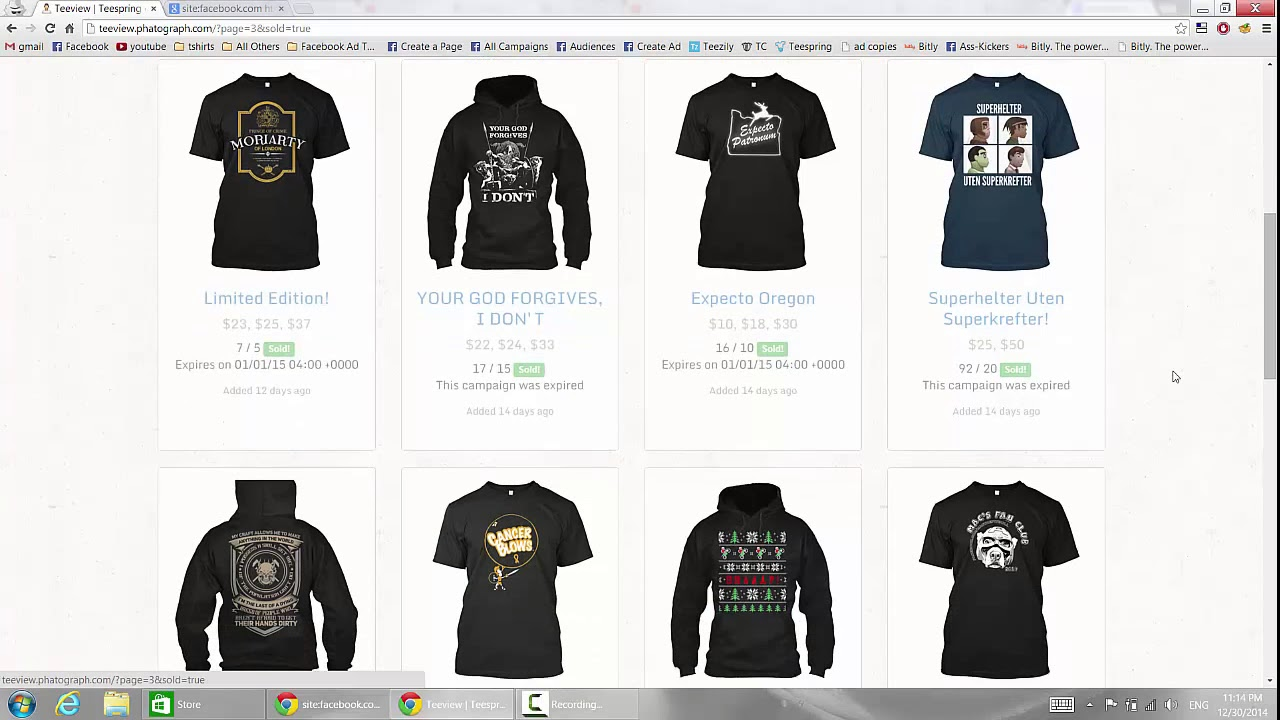 3b344040f283 very important :Sneaking On Teespring Top Sellers Finding Niches ...