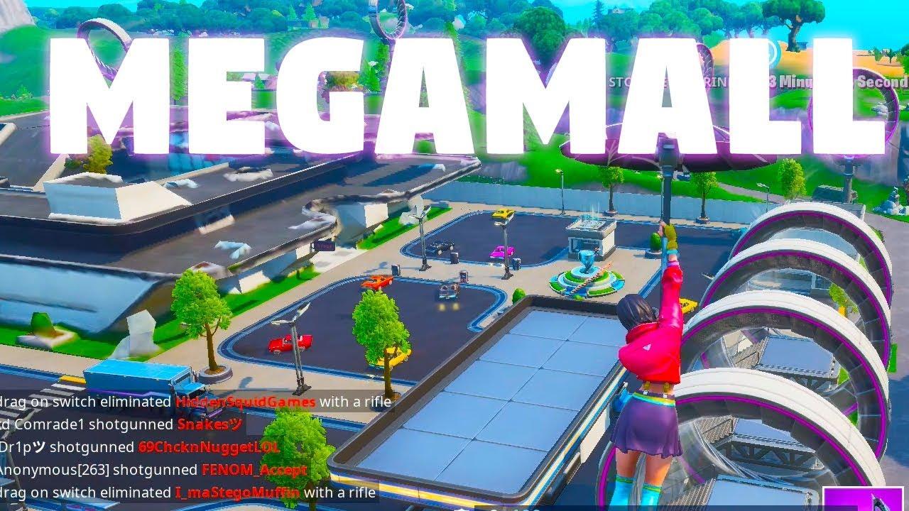 Ride the Slip Stream around Mega Mall Season 9 challenges