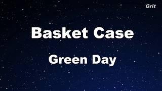 Basket Case - Green Day Karaoke【No Guide Melody】