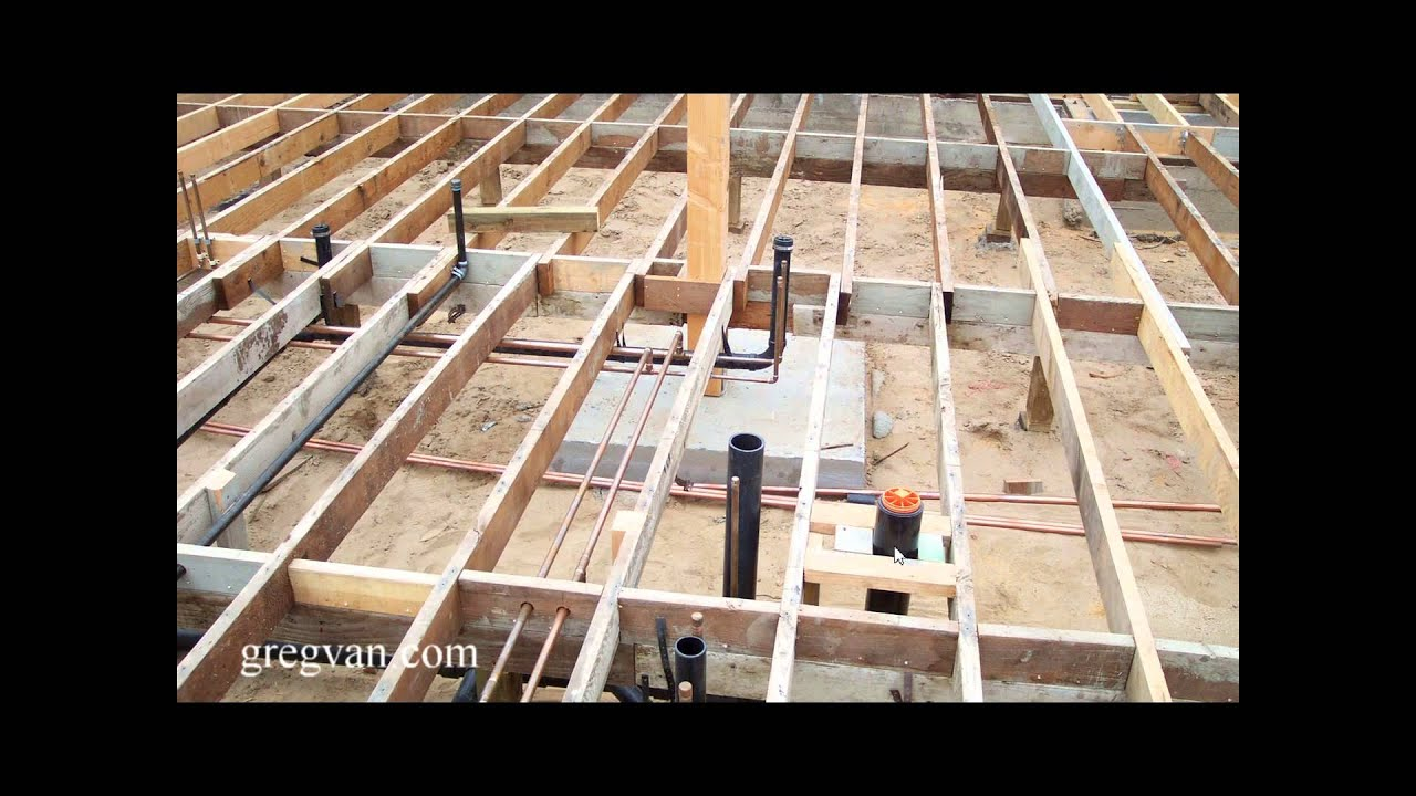 Watch This Video Before Building A Home With A Subfloor