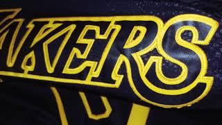 Баскетбольная джерси Nike NBA Lakers №0 Kyle Kuzma черная