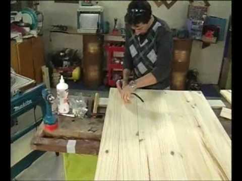 Concepto hogar carpinteria 1 parte miercoles 14 de julio - Como hacer una puerta rustica ...