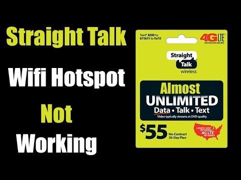 Straight talk wifi hotspot not working 2019 Internet sharing