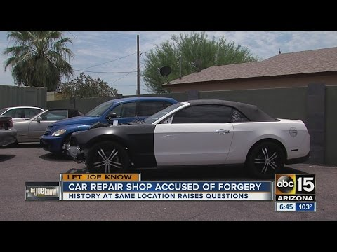 Car shop owner found guilty of insurance fraud, car owner left without vehicle