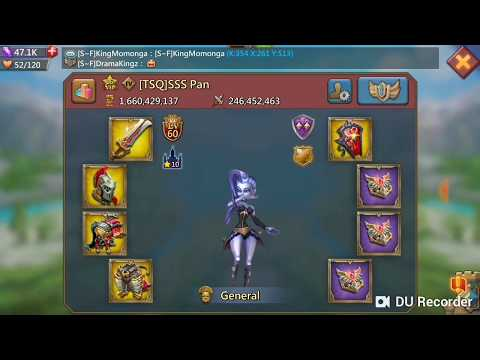 Full 375k mystic and champ hits! Lords mobile f2p trap.