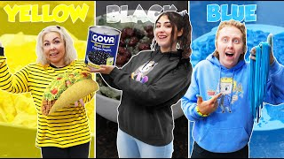 COOKING WITH ONLY ONE COLOR wins $10,000 CHALLENGE!