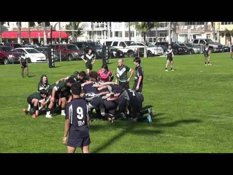U16 Back Bay Sharks vs Santa Monica Rugby 2.7.2015.avi