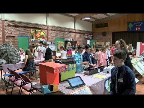Mapleshade Elementary School Invention Convention 2017