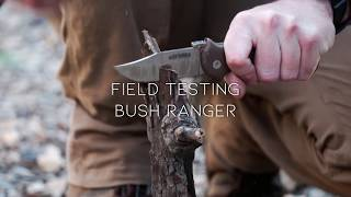 Field Testing the Bush Ranger - By Cold Steel