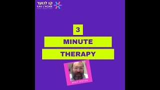 Benjy Epstein  3 minute therapy