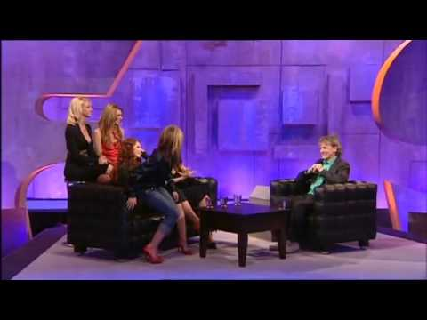 girls aloud funny interview on frank skinner hilarious x