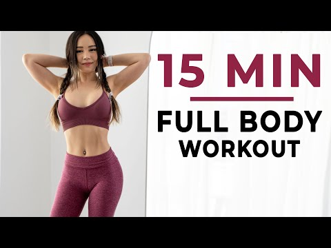 15 Min Full Body Workout ? Home Routine with Dumbbells